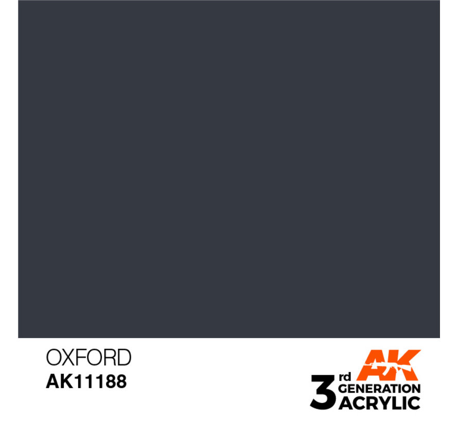 Oxford Acrylic Modelling Colors - 17ml - AK11188
