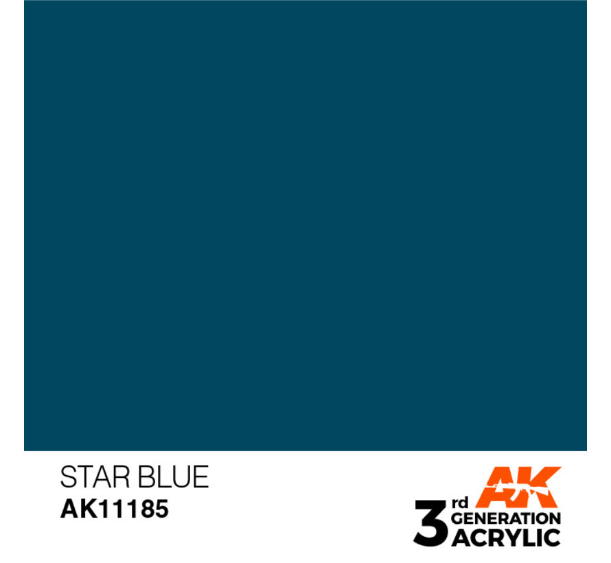 Star Blue Acrylic Modelling Colors - 17ml - AK11185