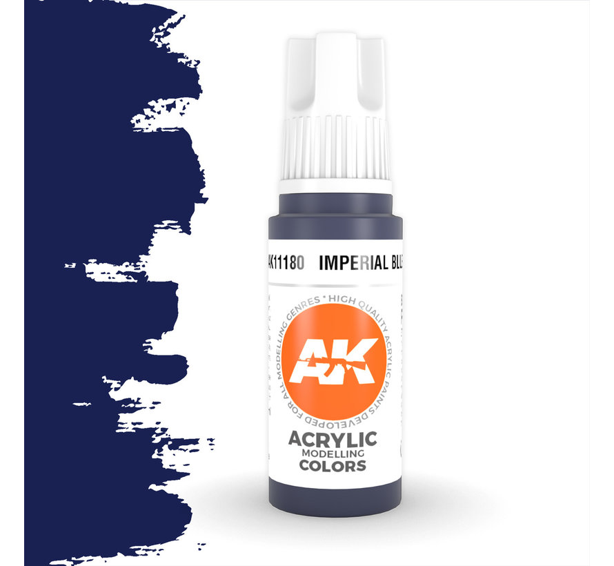 Imperial Blue Acrylic Modelling Colors - 17ml - AK11180