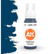 AK interactive Fluorescent Blue Acrylic Modelling Colors - 17ml - AK11178