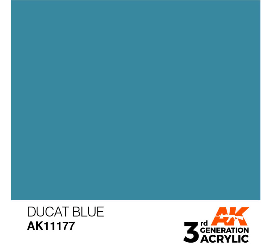 Ducat Blue Acrylic Modelling Colors - 17ml - AK11177