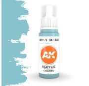 AK interactive Sky Blue Acrylic Modelling Colors - 17ml - AK11175