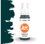 AK interactive Archaic Turquoise Acrylic Modelling Colors - 17ml - AK11172