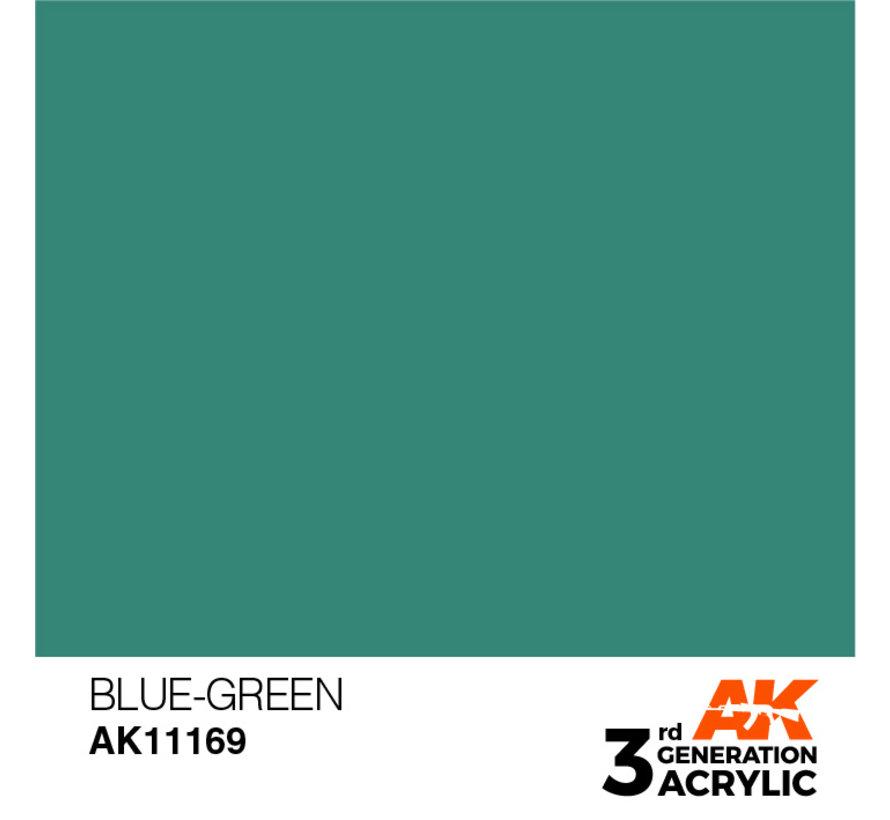 Blue Green Acrylic Modelling Colors - 17ml - AK11169