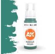 AK interactive Blue Green Acrylic Modelling Colors - 17ml - AK11169
