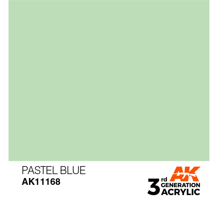 Pastel Blue Pastel Modelling Colors - 17ml - AK11168