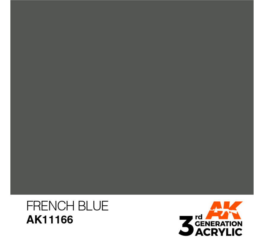 French Blue Acrylic Modelling Colors - 17ml - AK11166