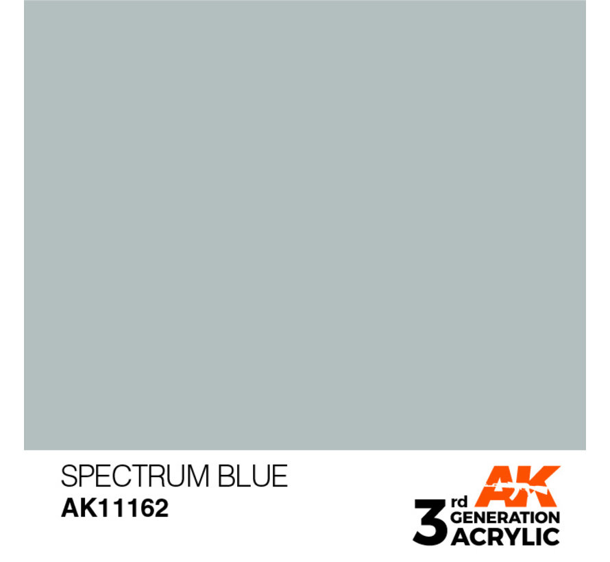 Spectrum Blue  Acrylic Modelling Colors - 17ml - AK11162