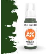 AK interactive Dark Green Acrylic Modelling Colors - 17ml - AK11146