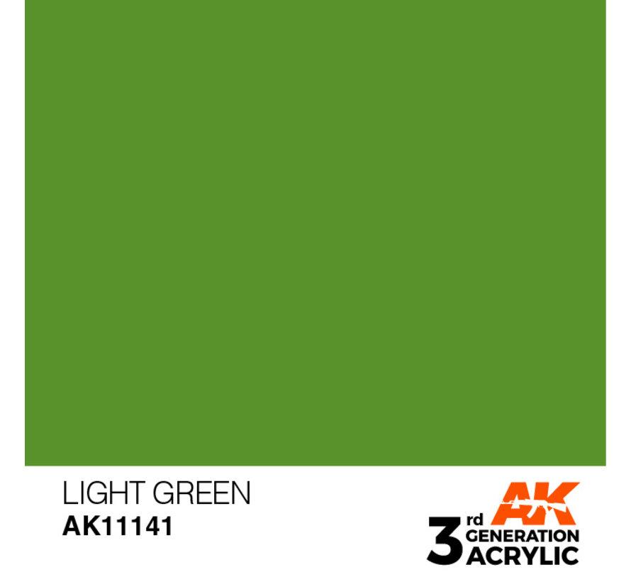 Light Green Acrylic Modelling Colors - 17ml - AK11141
