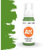 AK interactive Light Green Acrylic Modelling Colors - 17ml - AK11141