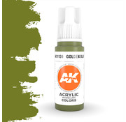 AK interactive Golden Olive Acrylic Modelling Colors - 17ml - AK11139
