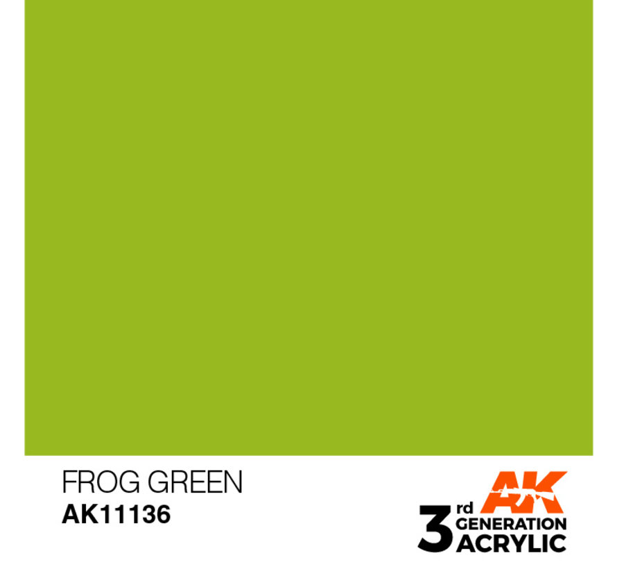 Frog Green Acrylic Modelling Colors - 17ml - AK11136