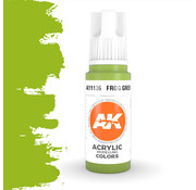 AK interactive Frog Green Acrylic Modelling Colors - 17ml - AK11136