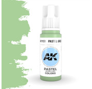 AK interactive Pastel Green Pastel Modelling Colors - 17ml - AK11131