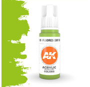 AK interactive Fluorescent Green Acrylic Modelling Colors - 17ml - AK11129