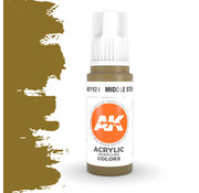AK interactive Middle Stone Acrylic Modelling Colors - 17ml - AK11124