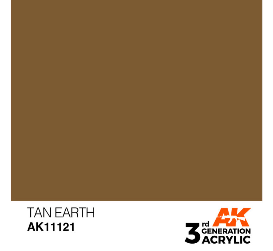 Tan Earth Acrylic Modelling Colors - 17ml - AK11121
