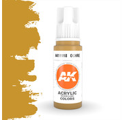 AK interactive Ocher Acrylic Modelling Colors - 17ml - AK11118