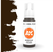 AK interactive Chocolate (Chipping) Acrylic Modelling Colors - 17ml - AK11113