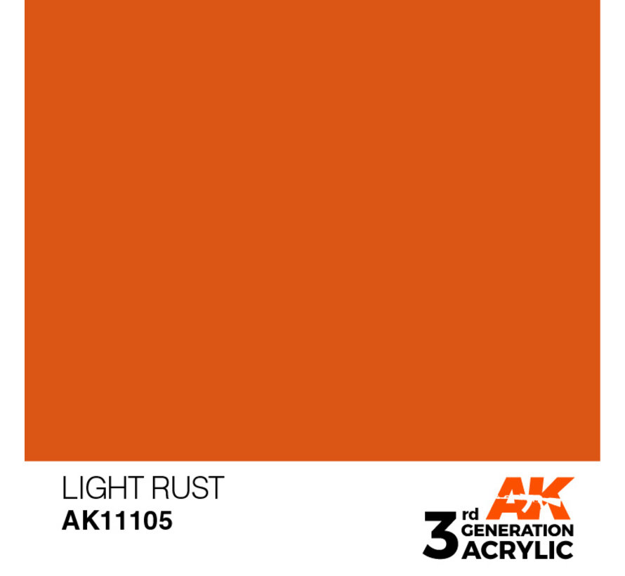 Light Rust Acrylic Modelling Colors - 17ml - AK11105