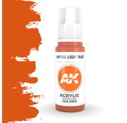 AK interactive Light Rust Acrylic Modelling Colors - 17ml - AK11105