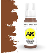 AK interactive Deep Brown Intense Modelling Colors - 17ml - AK11102