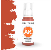 AK interactive Vermillion Acrylic Modelling Colors - 17ml - AK11090