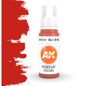 AK interactive Blood Red Acrylic Modelling Colors - 17ml - AK11089