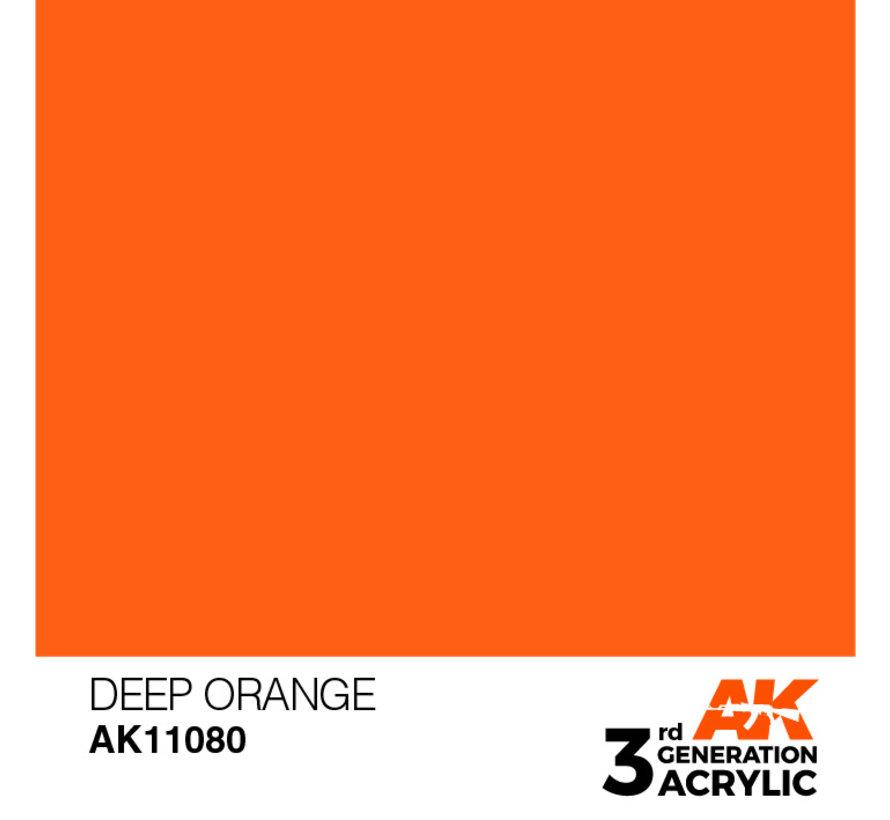 Deep Orange Intense Modelling Colors - 17ml - AK11080