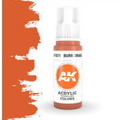 AK interactive Burn Orange Acrylic Modelling Colors - 17ml - AK11079