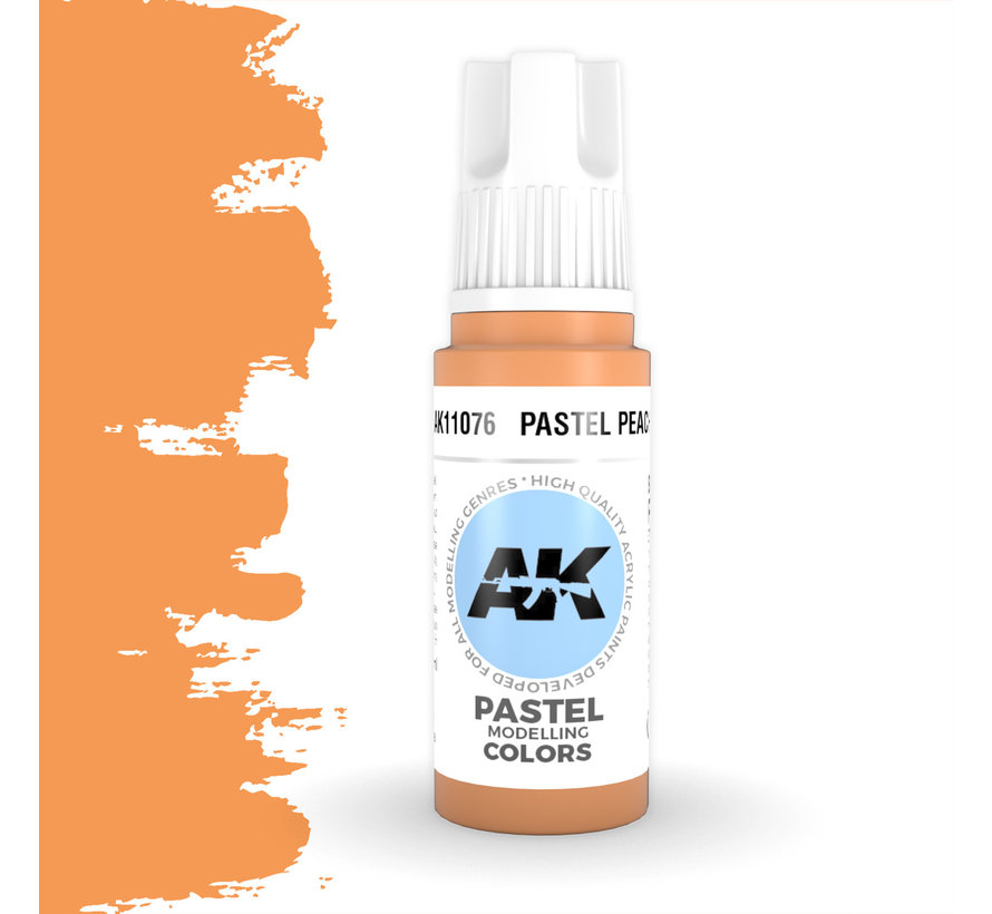 Pastel Peach Pastel Modelling Colors - 17ml - AK11076