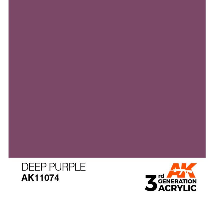 Deep Purple Intense Modelling Colors - 17ml - AK11074
