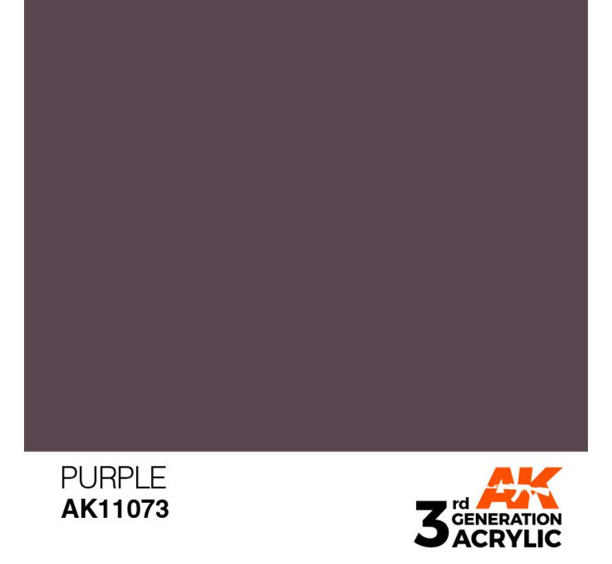 Purple Acrylic Modelling Colors - 17ml - AK11073
