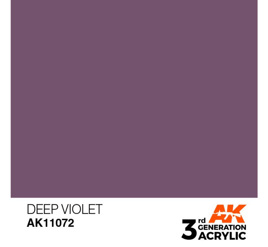 Deep Violet Intense Modelling Colors - 17ml - AK11072