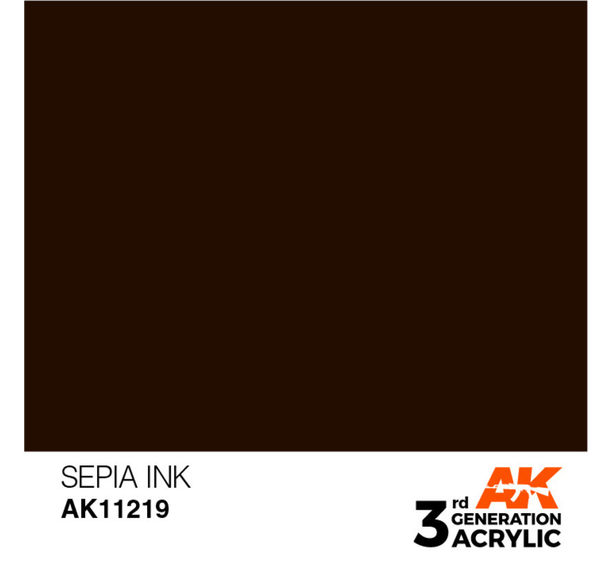 Sepia Ink Ink Modelling Colors - 17ml - AK11219