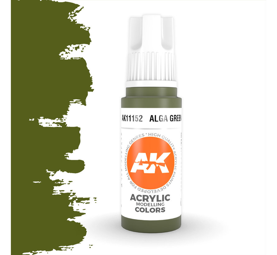 Alga Green Acrylic Modelling Colors - 17ml - AK11152
