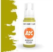 AK interactive Interior Yellow Green Acrylic Modelling Colors - 17ml - AK11138