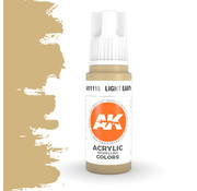 AK interactive Light Earth Acrylic Modelling Colors - 17ml - AK11115