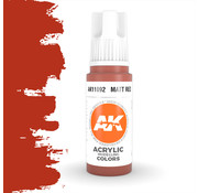 AK interactive Matt Red Acrylic Modelling Colors - 17ml - AK11092