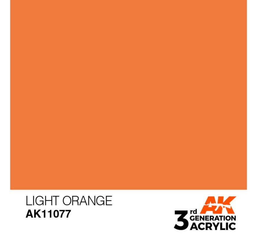 Light Orange Acrylic Modelling Colors - 17ml - AK11077