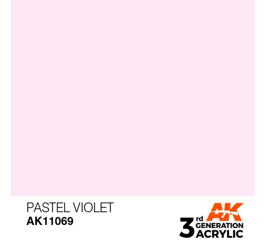 Pastel Violet Pastel Modelling Colors - 17ml - AK11069