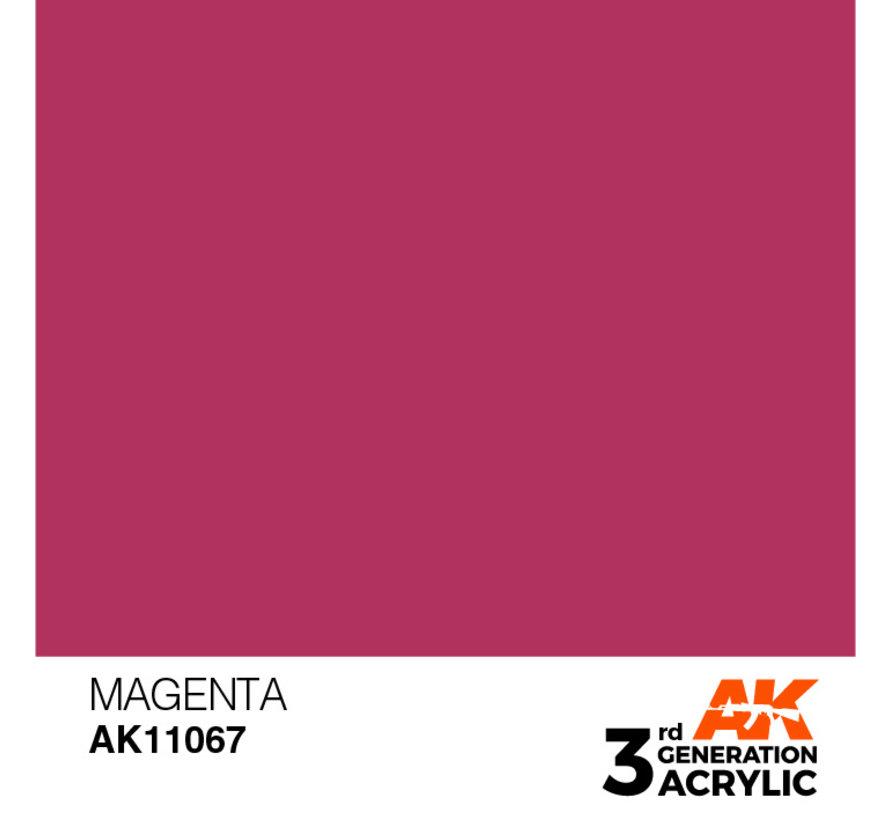 Magenta Acrylic Modelling Colors - 17ml - AK11067