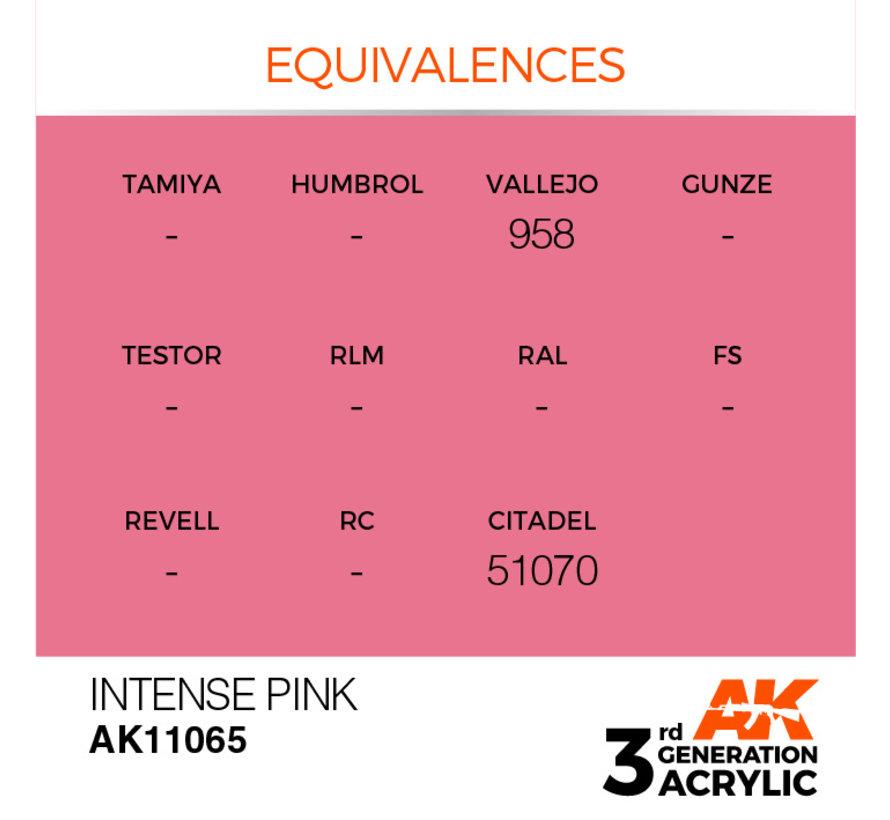 Intense Pink Intense Modelling Colors - 17ml - AK11065