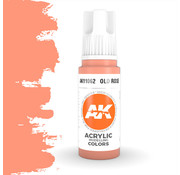 AK interactive Old Rose Acrylic Modelling Colors - 17ml - AK11062