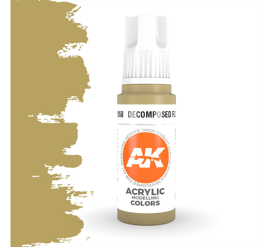 Decomposed Flesh Acrylic Modelling Colors - 17ml - AK11058