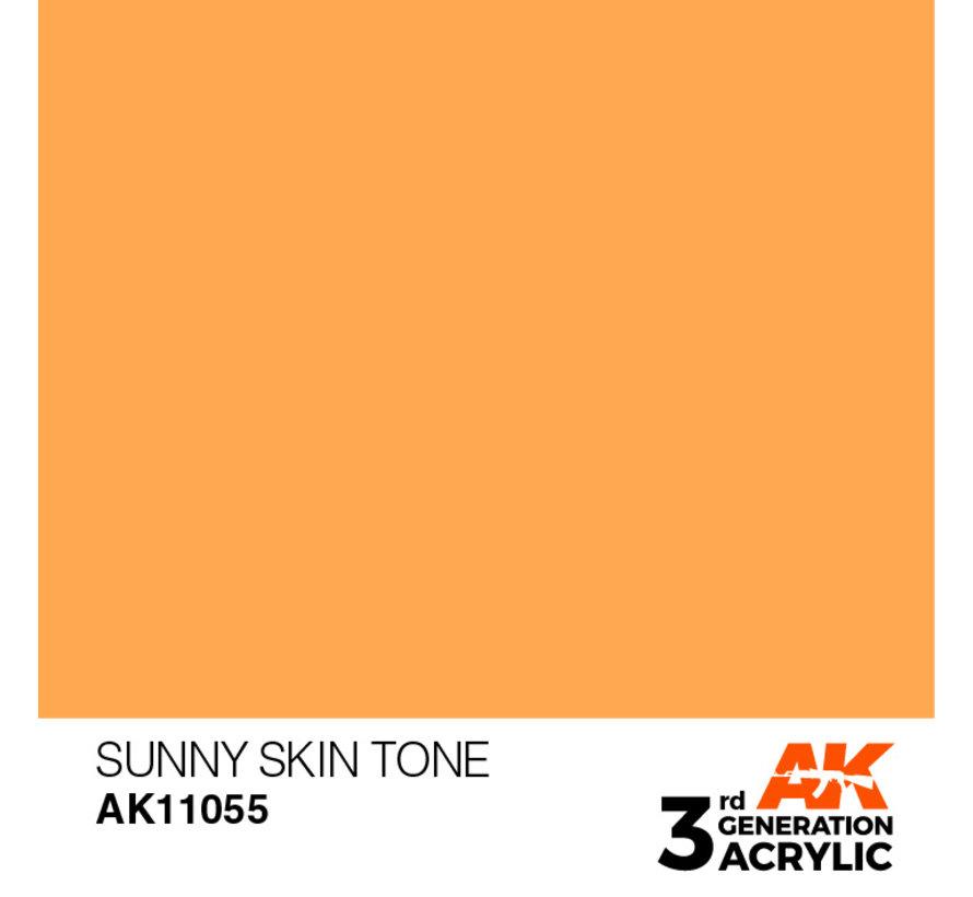 Sunny Skin Tone Acrylic Modelling Colors - 17ml - AK11055