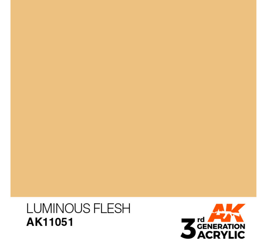 Luminous Flesh Acrylic Modelling Colors - 17ml - AK11051