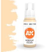 AK interactive Light Flesh Acrylic Modelling Colors - 17ml - AK11050