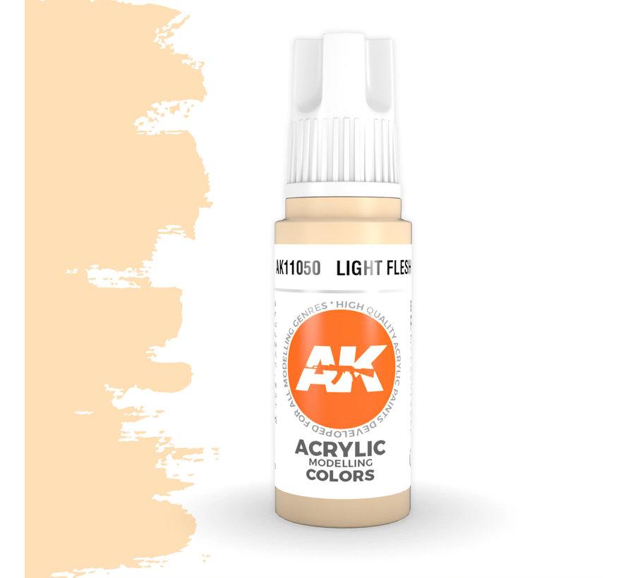 Light Flesh Acrylic Modelling Colors - 17ml - AK11050